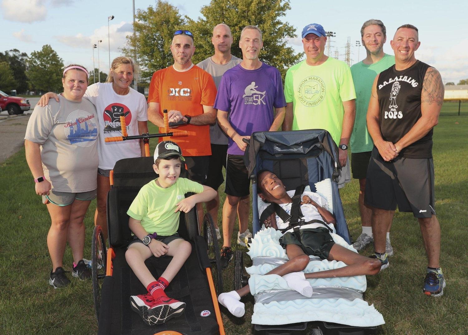 Father-son Duo Ready to Roll in Akron Marathon