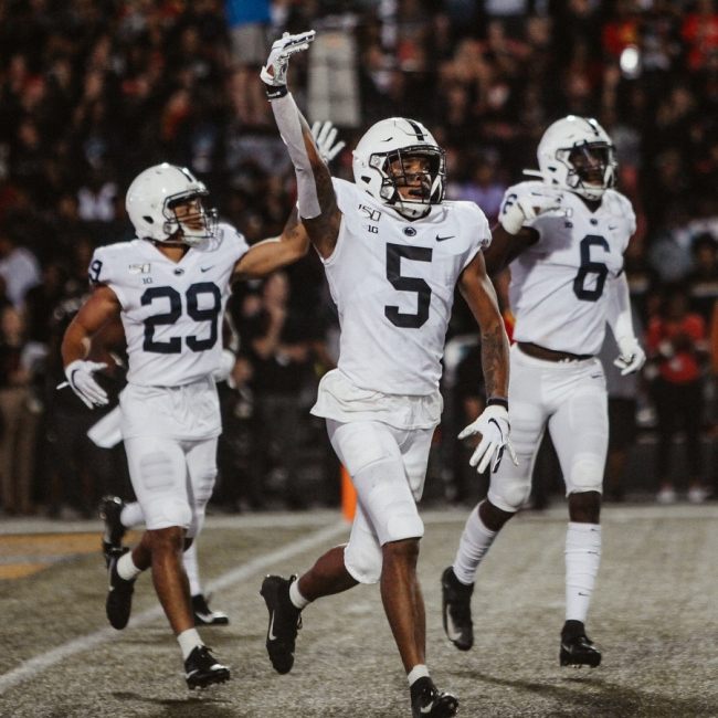 Penn State Football Quartet Of Backs Rumble Nittany Lions To Victory