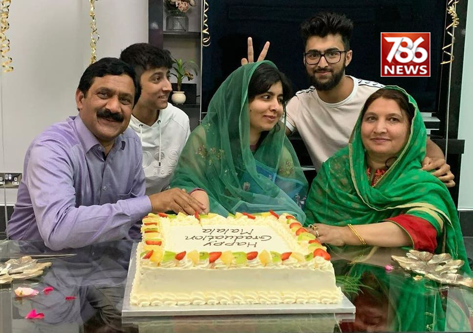 Malala completed her graduation