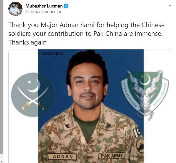 Mubasher Luqman troll Adnan Sami
